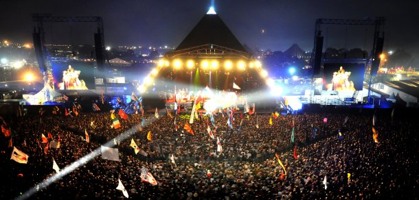 The Pyramid Stage (Foto: BBC)
